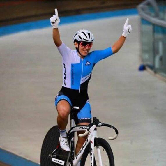 Πρωταθλήτρια ποδηλασίας - Ηρώ Μηλάκη