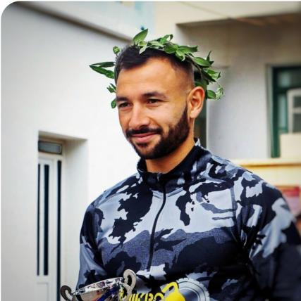 Δημήτρης Παπαδόγιαννης - αθλητής ορεινού τρεξίματος Dimitris Papadogiannis